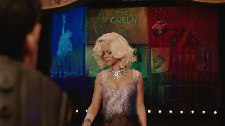 The padded Bubble (Rihanna) in Valérian and the City of ten thousand planets