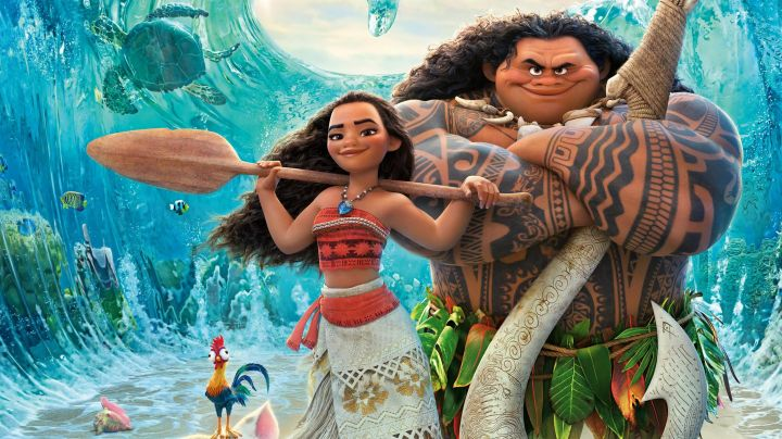 The paddle Vaiana in Vaiana, the legend of the end of the world - Movie Outfits and Products