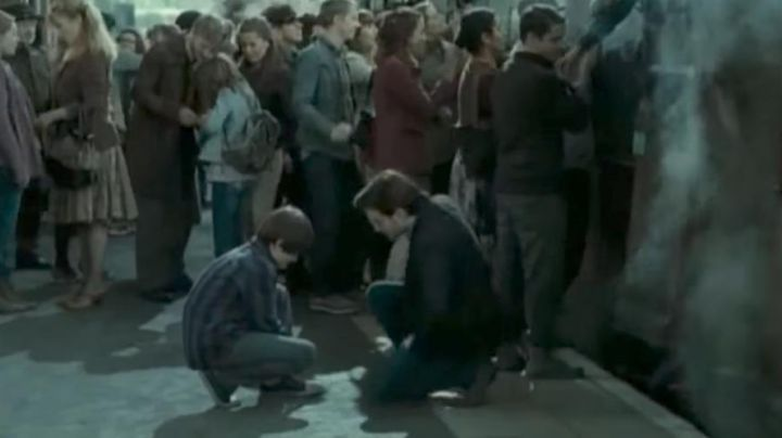 The pair of Bensimon's son's Harry Potter (Daniel Radcliffe) in Harry Potter 8 - Movie Outfits and Products
