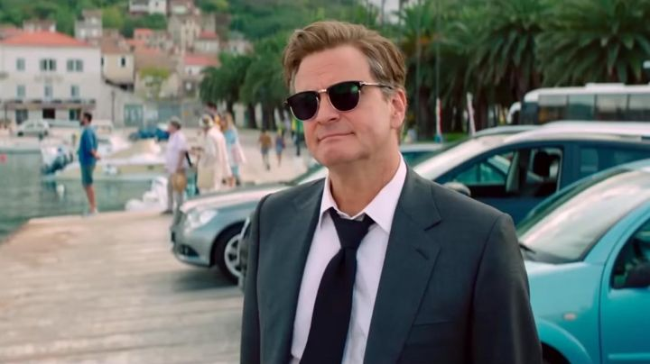The pair of sunglasses of Harry Bright (Colin Firth) Mamma Mia 2: Here We Go Again - Movie Outfits and Products