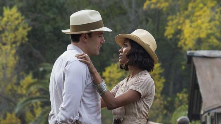 The panama hat of Graziella Suarez (Zoë Saldaña) in Live by Night - Movie Outfits and Products