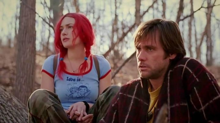 The pants lattice of Clementine Kruczinski (Kate Winslet) in Eternal Sunshine of the Spotless Mind