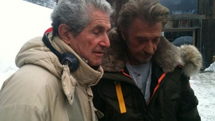 The parka Parajumpers Johnny Hallyday during the filming of Bastard, we love you - Movie Outfits and Products