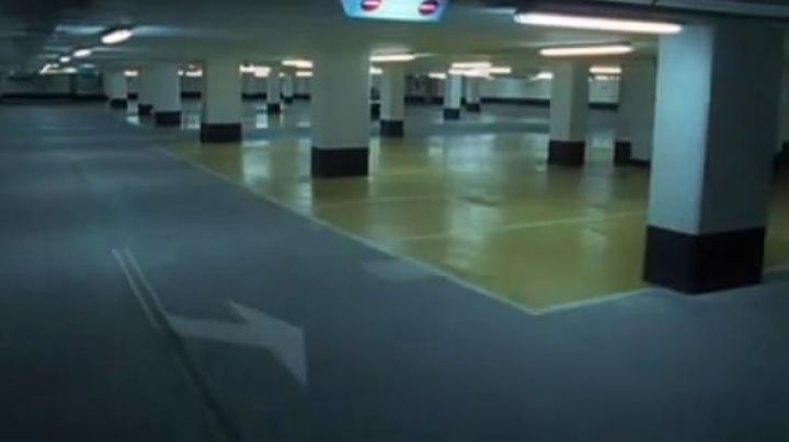 The parking Palmeira Nice in the opening scene of the film The Carrier - Movie Outfits and Products