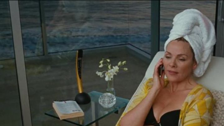 The phone of Samantha Jones (Kim Cattrall) in Sex and the city the movie - Movie Outfits and Products