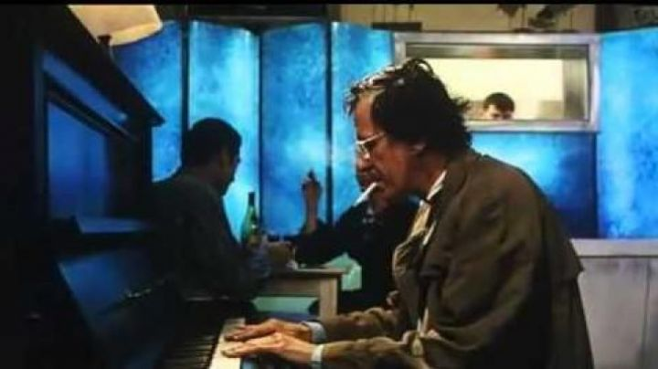 The piano Beale (australian), David Helfgott (Geoffrey Rush) in Shine - Movie Outfits and Products