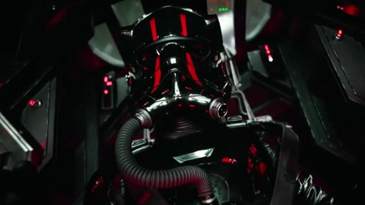The pilot suit of Tie Fighter in Star Wars VII : the awakening of the force