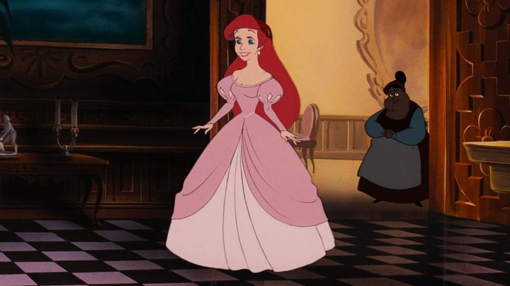 Fashion Trends 2021: The pink dress Ariel in The Little Mermaid