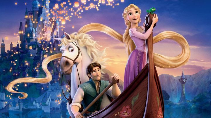 Fashion Trends 2021: The pink dress and the purple of Rapunzel in Rapunzel