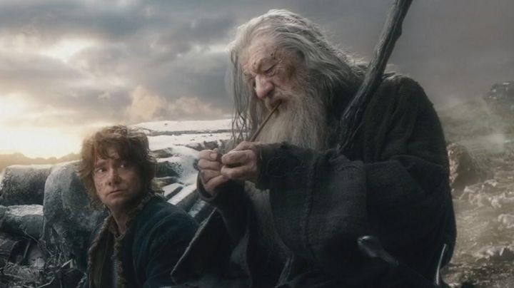 Fashion Trends 2021: The pipe of Gandalf (Ian McKellen) in The Hobbit : The battle of the five armies