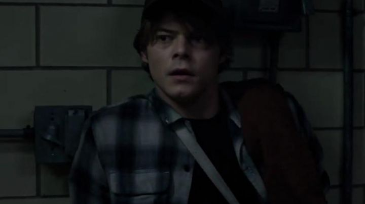 The plaid shirt Cannonball (Charlie Heaton) in The New Mutants - Movie Outfits and Products