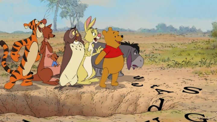 The  plush Coconut Rabbit in Winnie the Pooh - Movie Outfits and Products