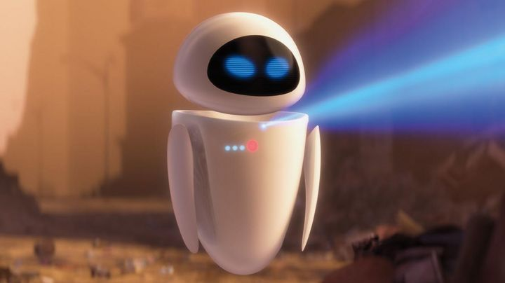 The  plush of Eve in Wall-E - Movie Outfits and Products