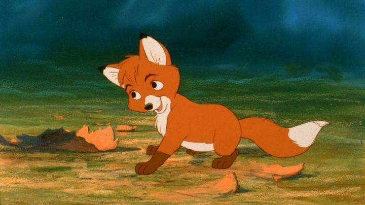 The  plush of Rox in Rox the fox and the hound - Movie Outfits and Products