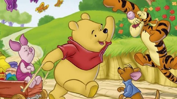 The  plush of Winnie the pooh in Winnie the Pooh - Movie Outfits and Products