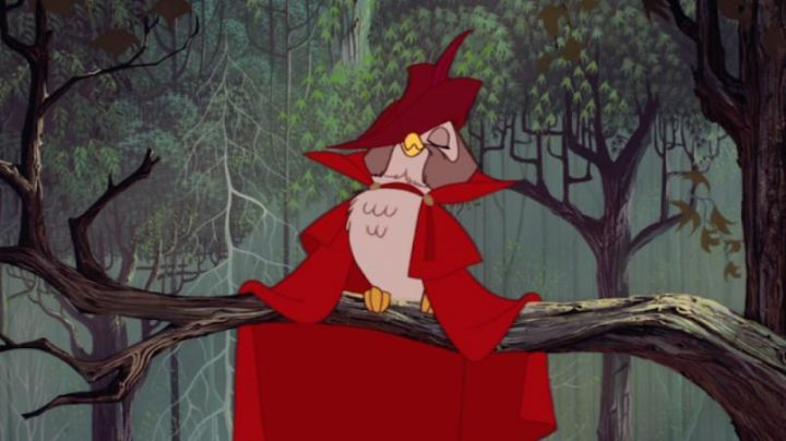 The  plush of the Master, the Owl in Sleeping beauty - Movie Outfits and Products