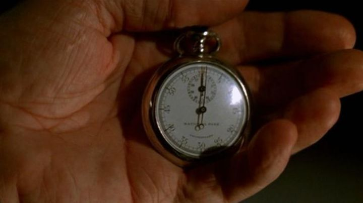 The pocket watch National Park of Cutter (Michael Caine) in The Prestige - Movie Outfits and Products