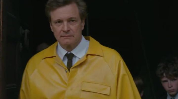 The polished yellow of Donald Crowhurst (Colin Firth) in The day of my return - Movie Outfits and Products