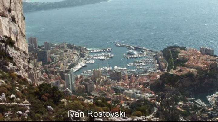 The port of Monaco in Mobius - Movie Outfits and Products