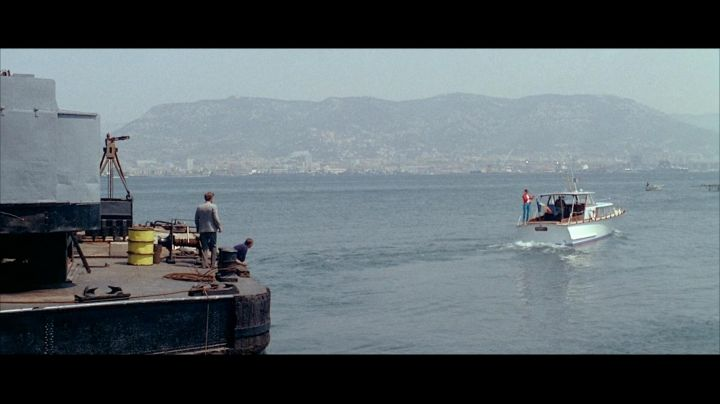 The port of Toulon in the film Pierrot le fou - Movie Outfits and Products
