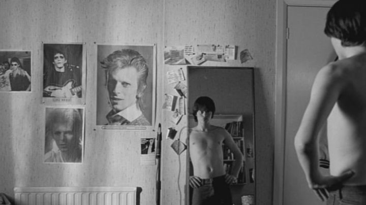 The portraits of David Bowie and Lou Reed