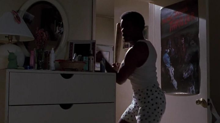 The poster of Thriller by Michael Jackson preview in Back to the future 2 - Movie Outfits and Products