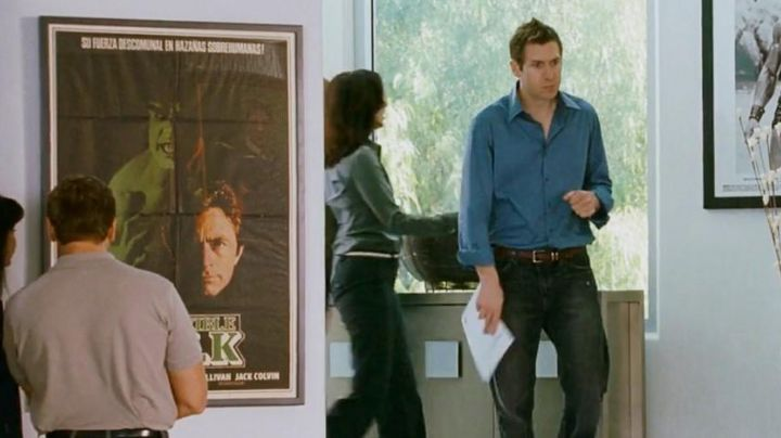 The poster of the Hulk seen in I Love You, Man - Movie Outfits and Products
