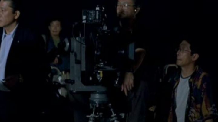 The professional camera of the filming of pub Bill Murray in Lost in Translation - Movie Outfits and Products