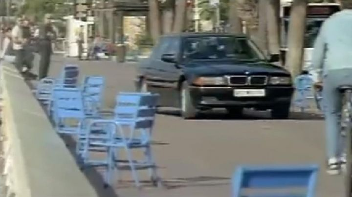 Fashion Trends 2021: The promenade des Anglais in Nice, in the film Carrier
