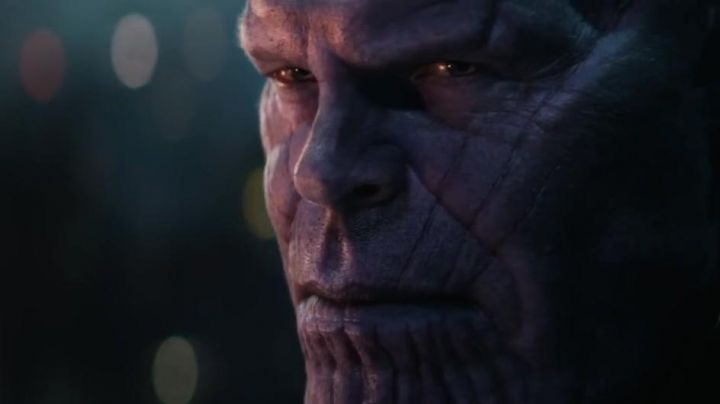 The prosthesis in the latex of Thanos (Josh Brolin) in Avengers : Infinity War - Movie Outfits and Products