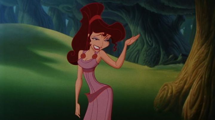 The purple dress of Megara in the cartoon Hercules - Movie Outfits and Products