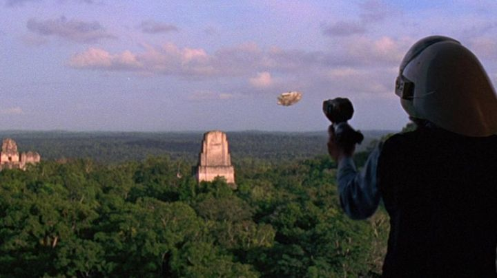 Fashion Trends 2021: The pyramids of Tikal in Guatemala serving as the setting for Yavin IV in Star Wars IV : A New Hope