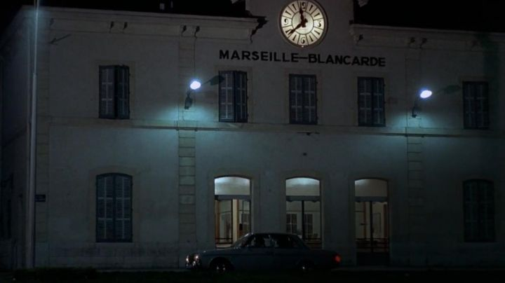 The railway Station of Marseille-Blancarde in the movie The Red Circle - Movie Outfits and Products
