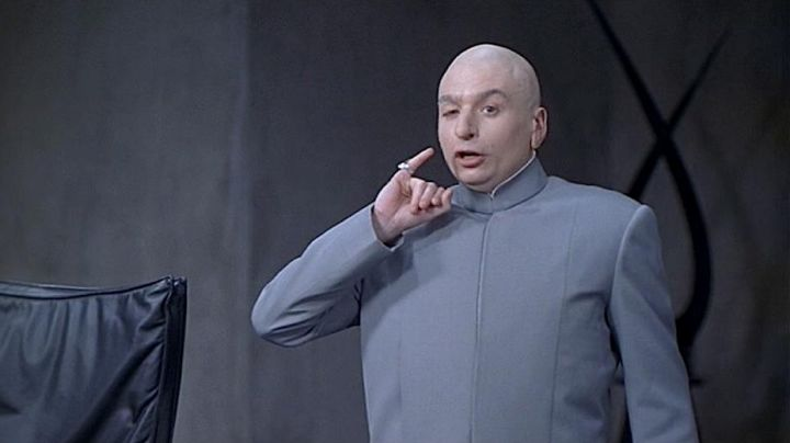 Fashion Trends 2021: The real gray suit of Dr. Evil / Dr. Evil (Mike Myers) in Austin Powers