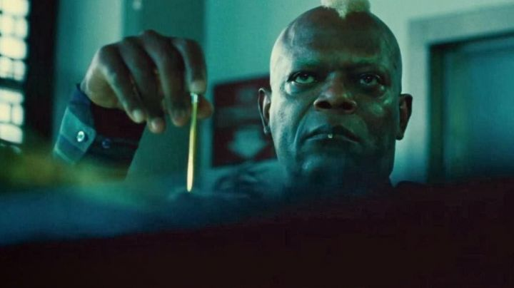 The real highlight of Chaney (Samuel L. Jackson) in ' Old Boy movie