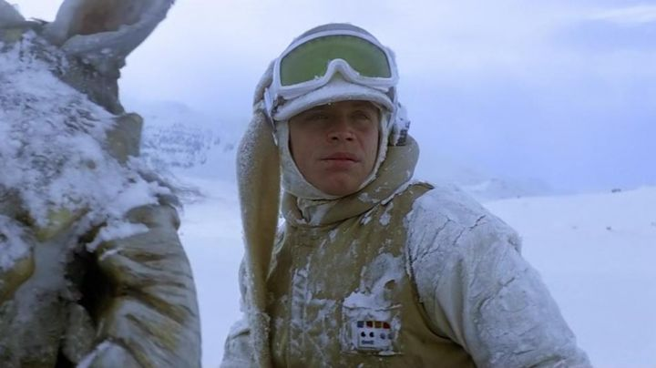 Fashion Trends 2021: The record snow of Luke Skywalker (Mark Hamill) in Star Wars V : The empire against attack