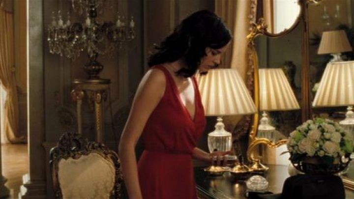 The red dress brought to Venice by Vesper Lynd (Eva Green) in Casino Royale Movie