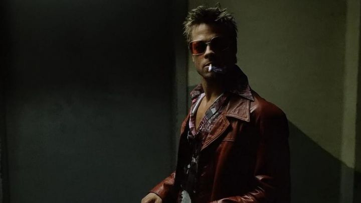 Fashion Trends 2021: The red leather jacket of Tyler Durden (Brad Pitt) in Fight Club