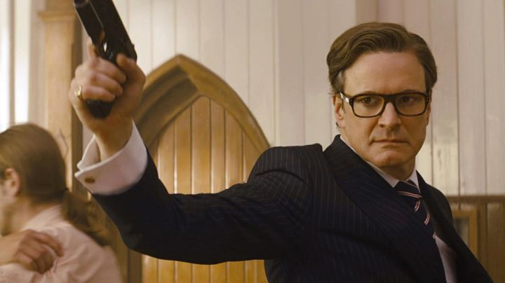 The ring / signet of Harry Hart / Galahad (Colin Firth) in Kingsman : the Secret Service - Movie Outfits and Products