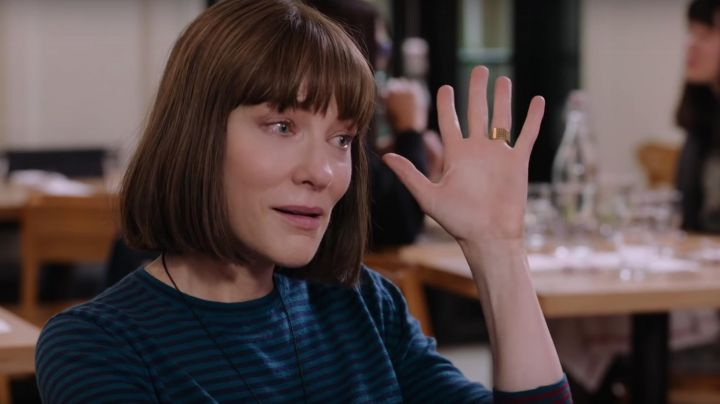 The ring worn by Bernadette Fox (Cate Blanchett) in Where'd You Go