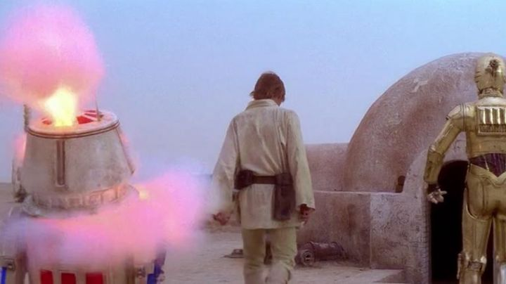 Fashion Trends 2021: The robot R5-D4 in Star Wars IV : A new hope