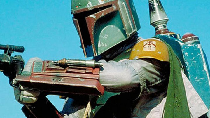 The rocket resin Boba Fett In Star Wars V : The empire against attack - Movie Outfits and Products