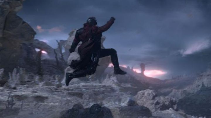 The rockets on the shoes of Star-Lord / Peter Quill (Chris Pratt) in Guardians of the Galaxy - Movie Outfits and Products