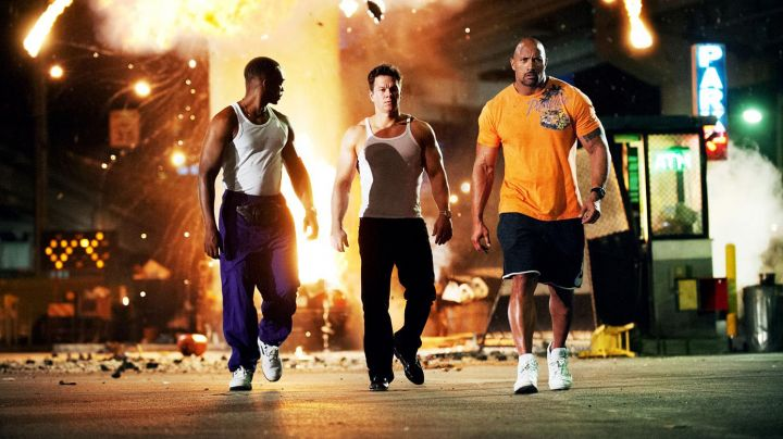 The running shoes of Adrian Doorbal (Anthony Mackie) in the film No pain No Gain - Movie Outfits and Products