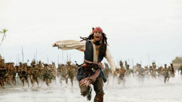 The scarf/​belt Jack Sparrow (Johnny Depp) in Pirates of the caribbean - Movie Outfits and Products