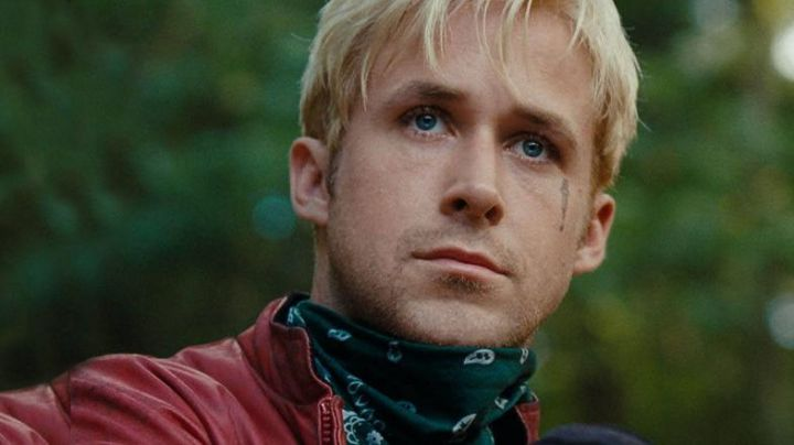 The scarf, the green of Luke Glanton (Ryan Gosling) in The Place Beyond The Pines - Movie Outfits and Products