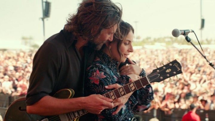 The shirt country of an Ally (Lady Gaga) in A Star Is Born movie