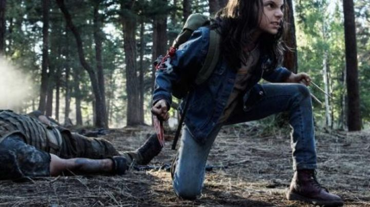 Fashion Trends 2021: The shoes / boots Doc Martens of Laura Kinney / X-23 (Dafne Keen) in Logan