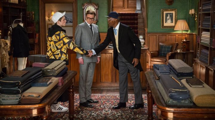 The shoes model Oxford by George Cleverley of Harry Hart (Colin Firth) in Kingsman - Movie Outfits and Products