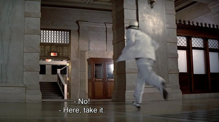 The shoes of Frank Nitti (Billy Drago) in Untouchables - Movie Outfits and Products